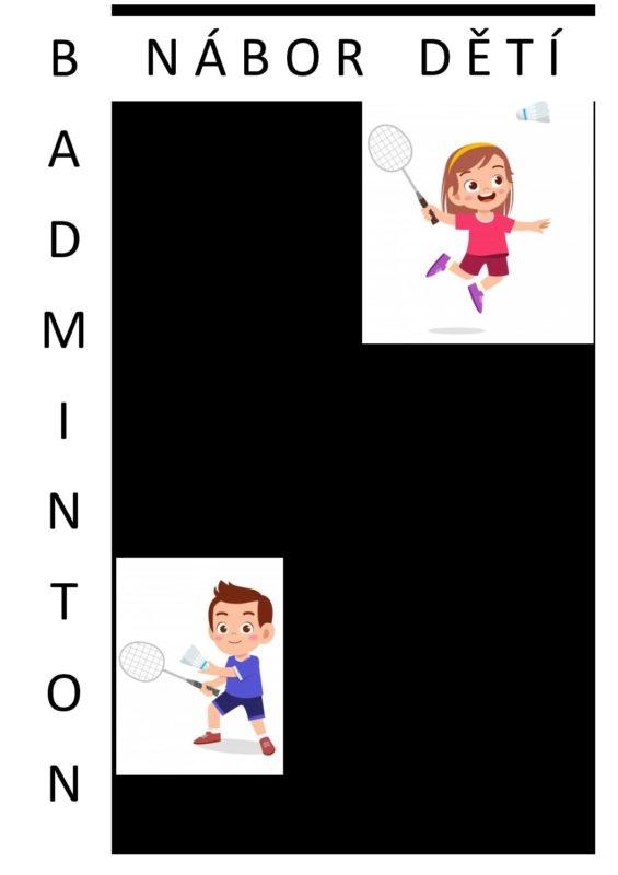 Nábor Dětí Badminton - Aktuálně